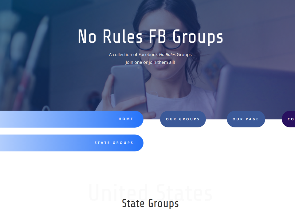 No Rules Facebook Groups