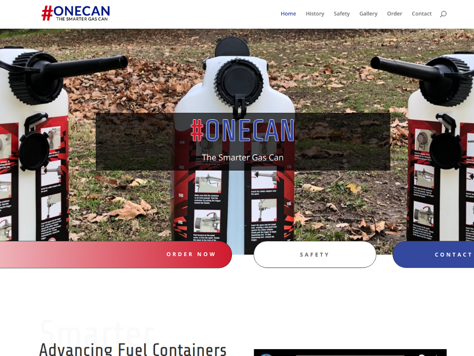 One Can USA Advancing Fuel Containers