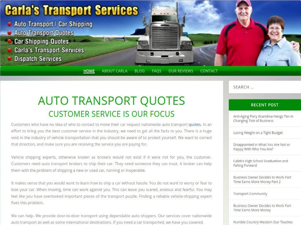 Carlas Transport Services