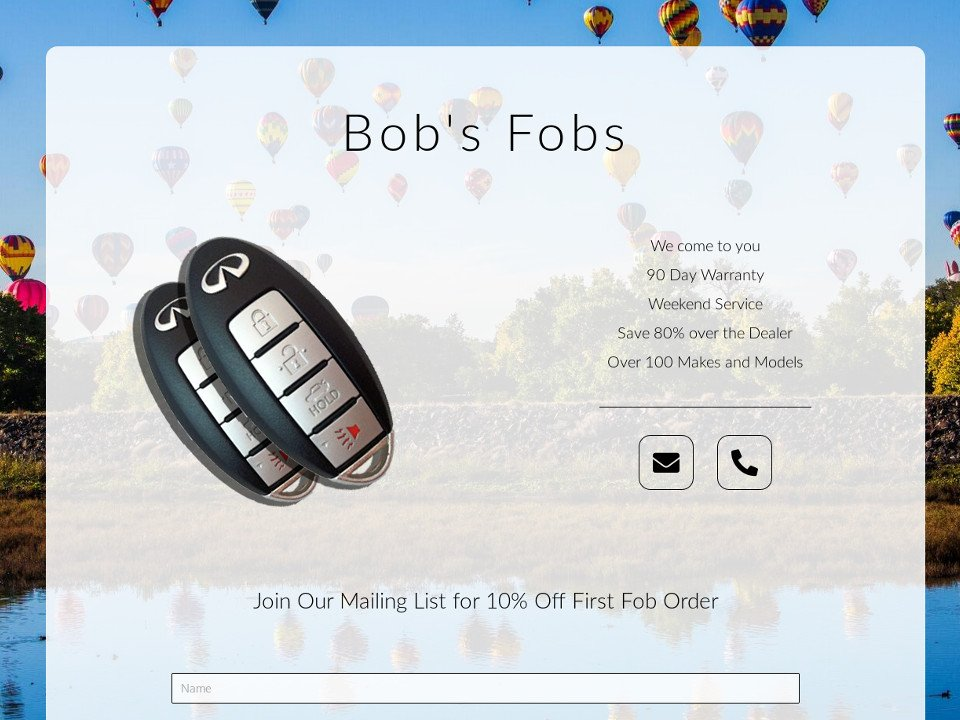 Bobs Fobs